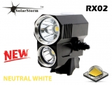SolarStorm RX02 Dual Beam Neutral White