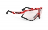 Rudy Project DEFENDER Fire Red Gloss - ImpactX Laser Red