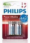 Alkalická baterie Philips Power AAA 6ks