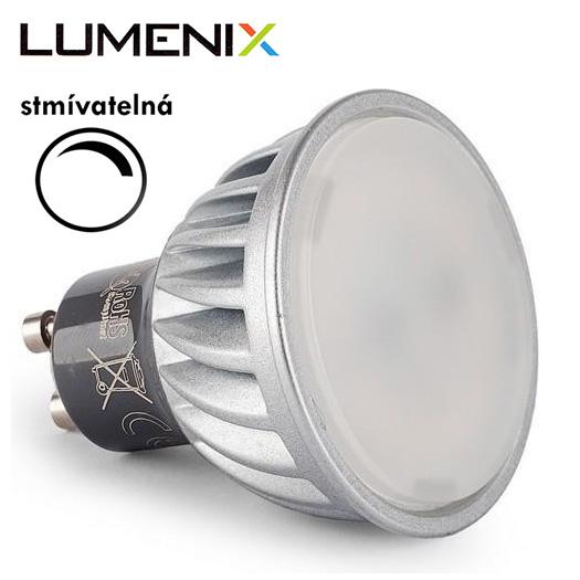 LumeniX GU10 10W 860lm STMÍVATELNÁ studená bílá
