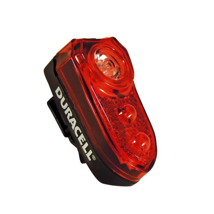 Duracell B02 zadní světlo na kolo