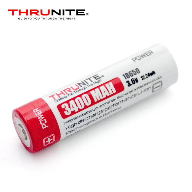 Baterie Li-Ion 18650 ThruNite 3.6V 3400mAh