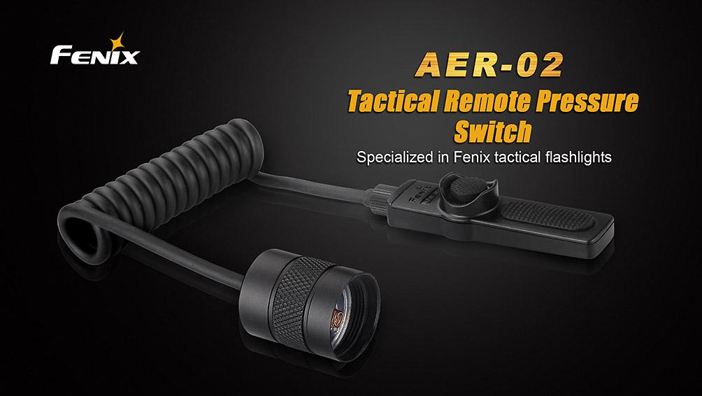 Vzdálený spínač AER-02 pro svítilny Fenix TK16