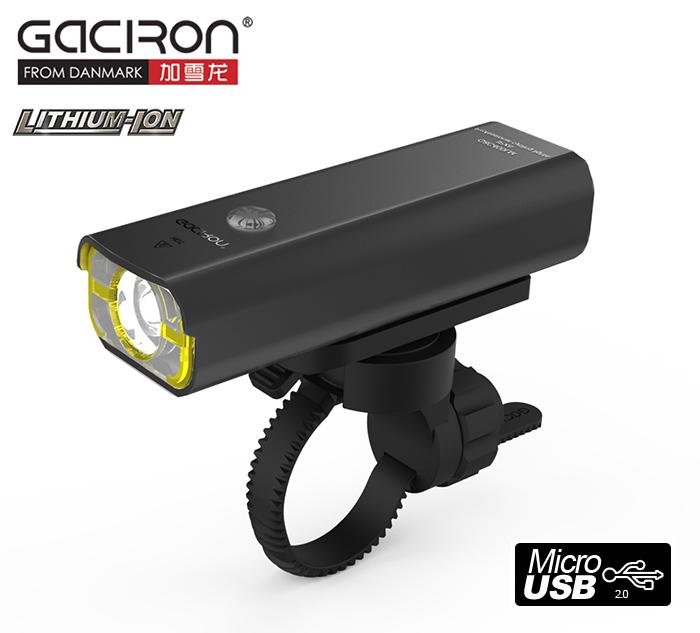 Gaciron V9C400 USB 400lm cyklosvítilna dobíjecí