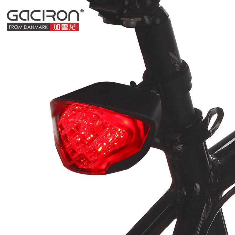Gaciron W02 zadní brzdové světlo na kolo