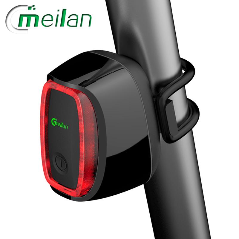 Meilan X6 inteligentní zadní světlo na kolo (Black)
