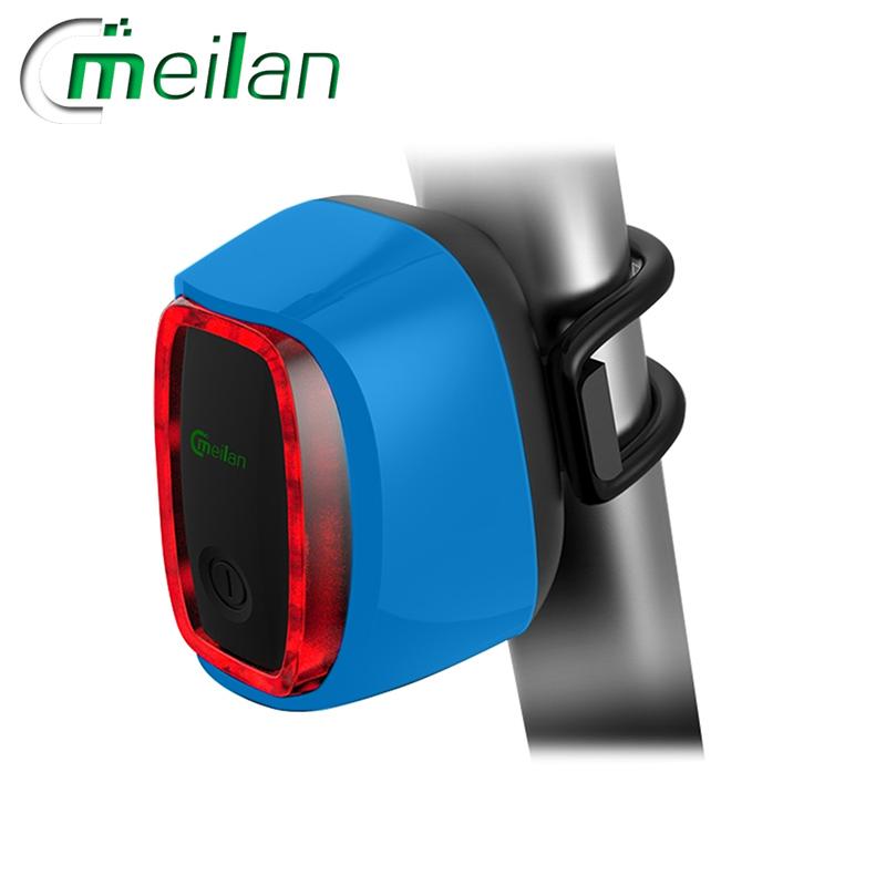Meilan X6 inteligentní zadní světlo na kolo (Blue)