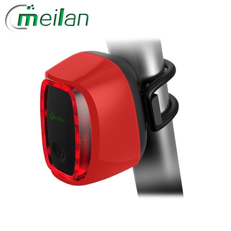 Meilan X6 inteligentní zadní světlo na kolo (Red)