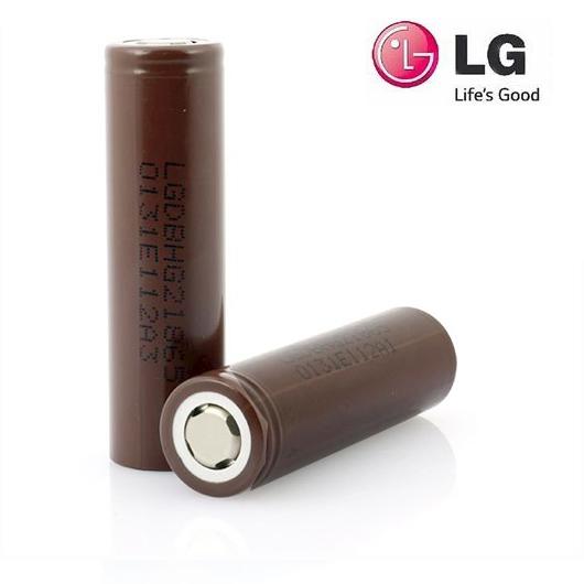 Baterie Li-Ion IMR 18650 LG HG2 3000mAh 20A FLAT NO-Protected