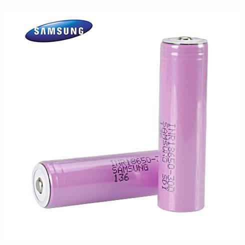 Baterie Li-Ion IMR 18650 Samsung 30Q 3000mAh 20A Button NO-Protected
