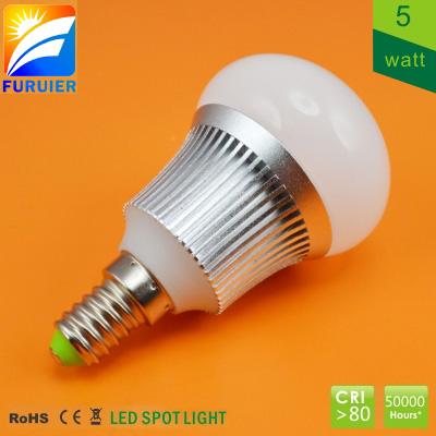 LED COB žárovka E14 5W Furuier SAMSUNG studená stmívatelná