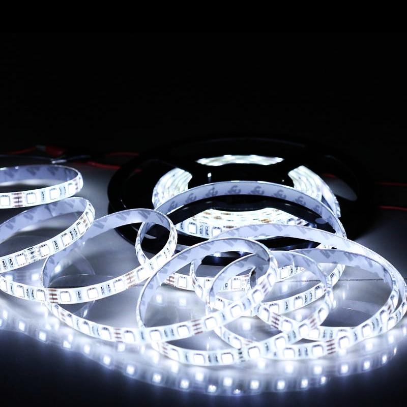 EcoLed LED pásek 1M, studená, 60 led, SMD5050 nevodotěsný