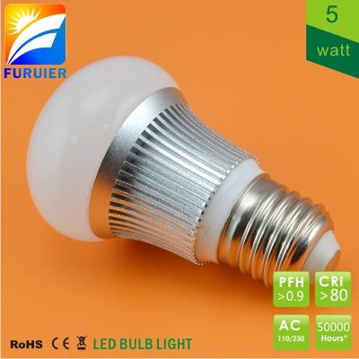 LED COB žárovka E27 5W Furuier SAMSUNG teplá stmívatelná