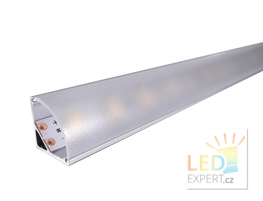 Hliníkový profil 1M pro LED pásek H-006 Corner B