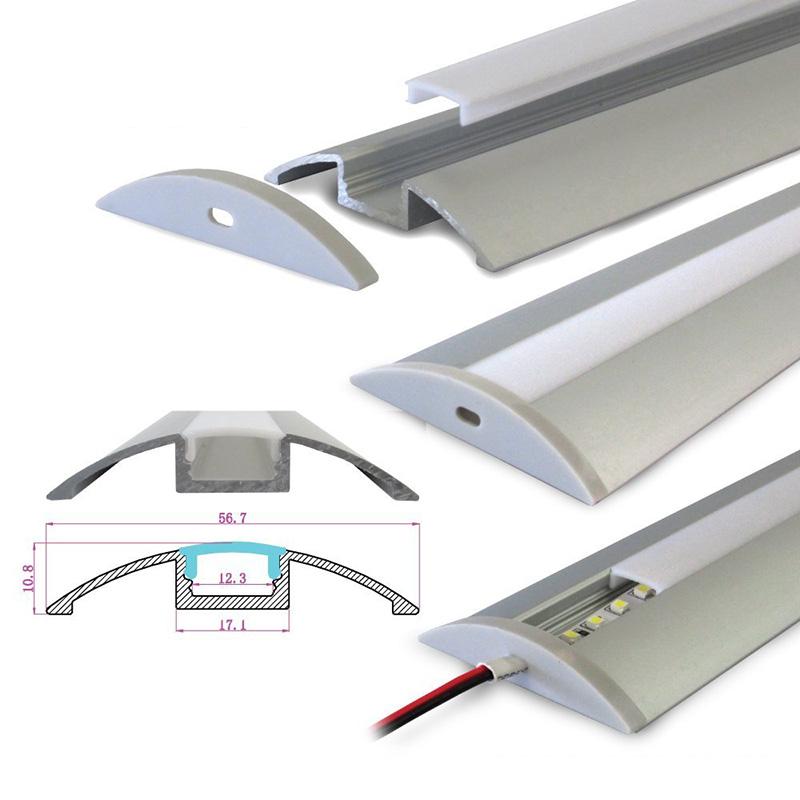Hliníkový profil 1M pro LED pásek H-021 Flat