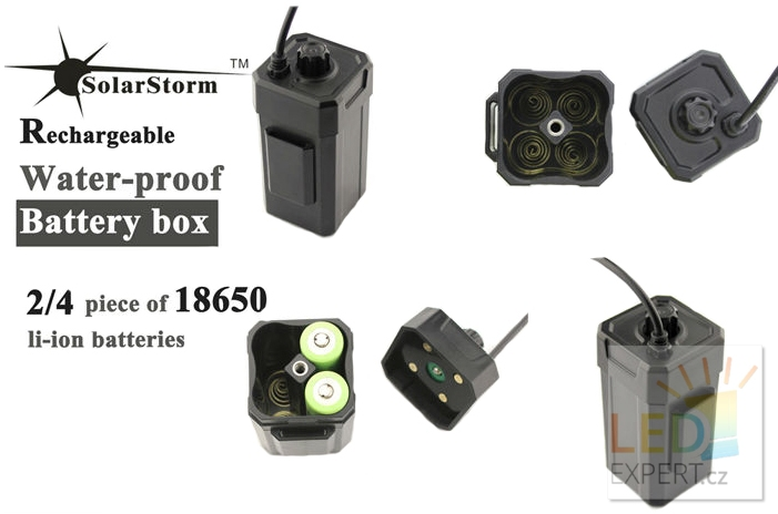 Solarstorm BC-1 Battery Box pro baterie Li-Ion