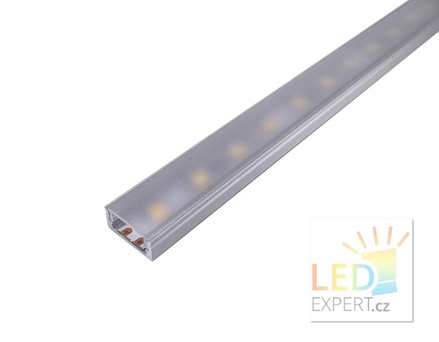 Hliníkový profil 2M pro LED pásek H-002-SlimLine