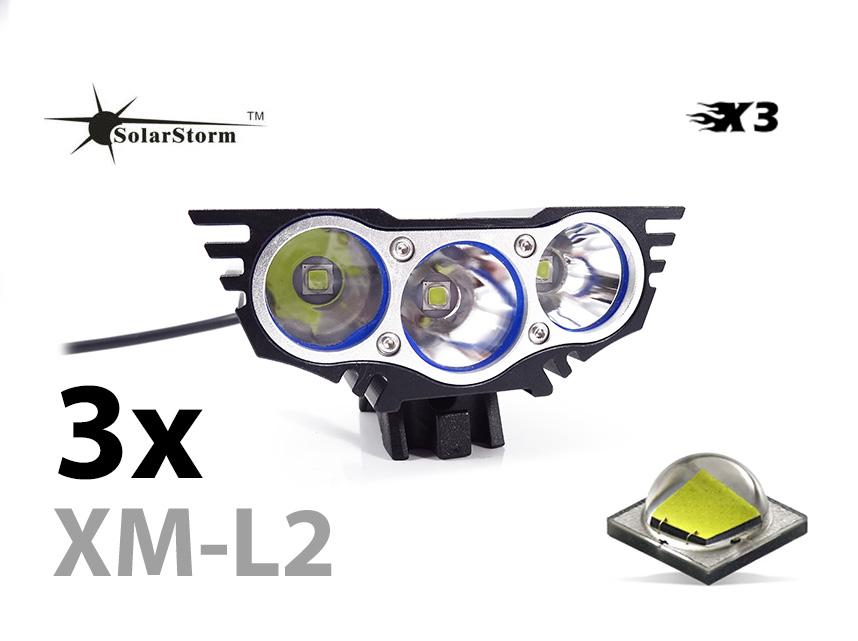 SolarStorm X3 LED cyklosvítilna 1600 lumen