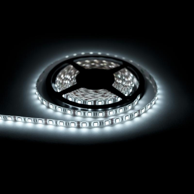 EcoLed LED pásek 1M, studená, 60 led, SMD5050 vodotěsný