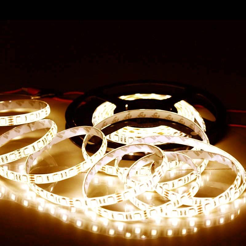 EcoLed LED pásek 1M, teplá, 60 led, SMD5050 nevodotěsný