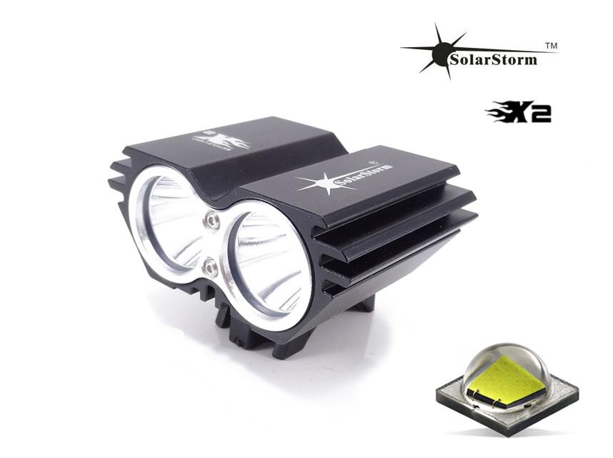 SolarStorm X2 LED cyklosvítilna