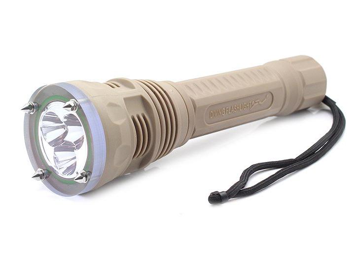 TrustFire TR-DF002 XM-L2 potápěčská LED svítilna