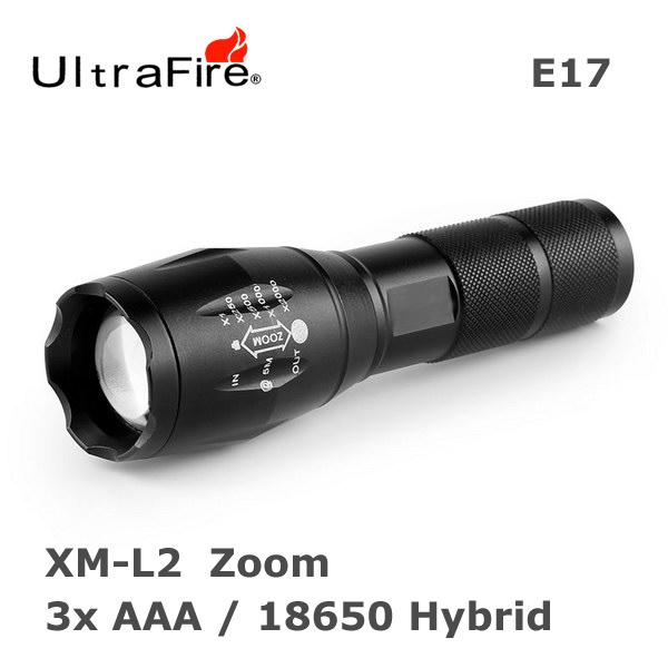 UltraFire E17 Zoom XM-L2