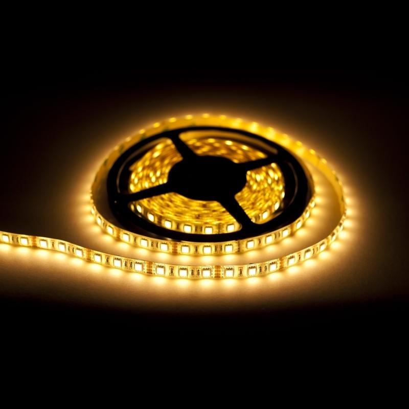 EcoLed LED pásek 1M, teplá, 60 led, SMD5050 vodotěsný