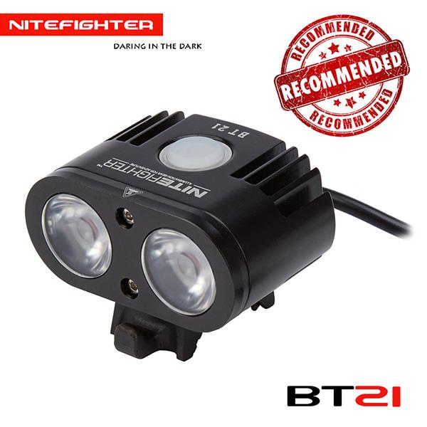 NiteFighter BT21 Neutral White 1700 lumen