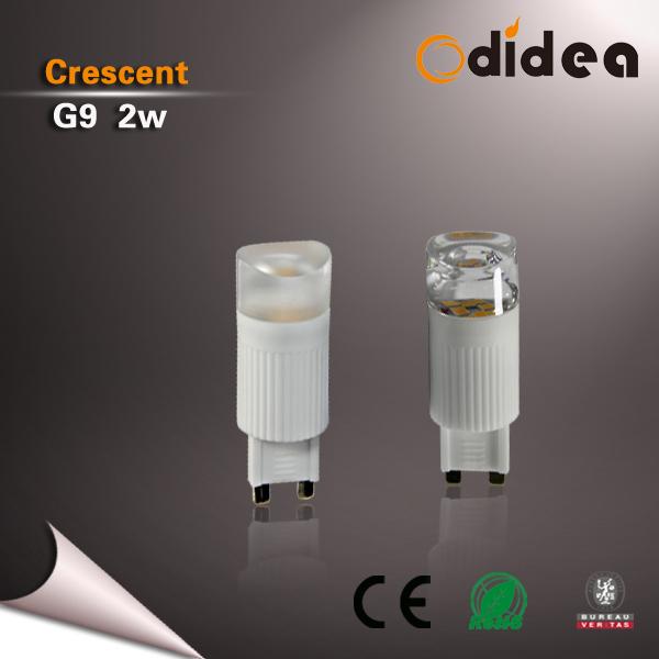 LED žárovka G9 2W Slim Crescent teplá
