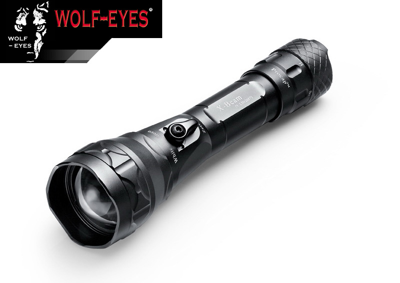 Wolf-Eyes X-Beam XP-L V5 Zelená led Hunting Full Set