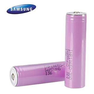 Baterie Li-Ion INR 18650 Samsung 30Q 3000mAh 20A Button NO-Protected
