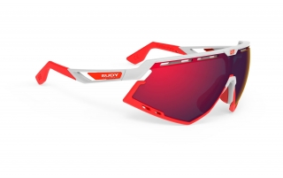Rudy Project DEFENDER White Gloss - RP Optics Multilaser Red