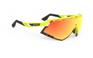 Rudy Project DEFENDER Yellow Fluo - RP Optics Multilaser Orange