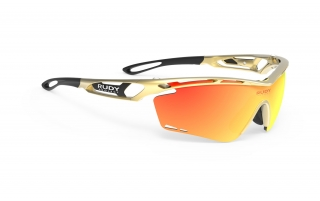 Rudy Project TRALYX Share Gold Velvet - RP Optics Multilaser Orange