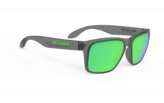 Rudy Project SPINHAWK Crystal Ash - RP Optics Multilaser Green