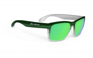 Rudy Project SPINHAWK Green Streaked M. - Polar 3FX HDR Multilaser Green