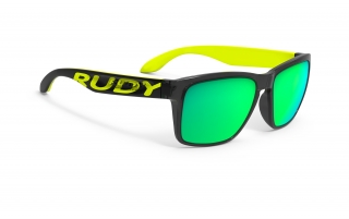 Rudy Project SPINHAWK LOUD Crystal Ash - RP Optics Multilaser Green