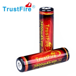 Baterie Li-Ion 18650 TrustFire 3400mAh Protected