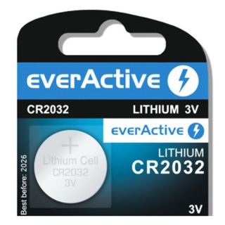 Baterie EverActive CR2032