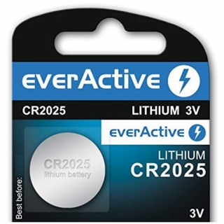 Baterie EverActive CR2025